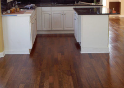 Brazilian Cherry floor in Shawnee Hills