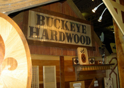 Buckeye Hardwood at The Dispatch's Home and Garden Show