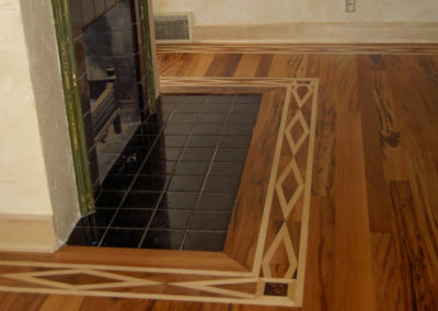 Design, installation, sanding, and finishing of hardwood floors